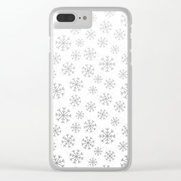 Winter Abstracts 20A Clear iPhone Case
