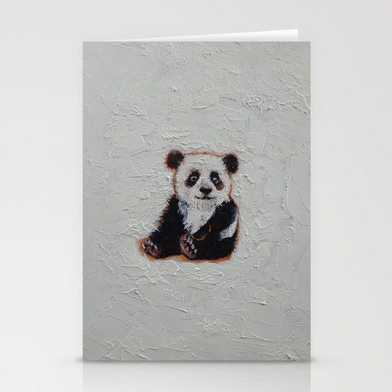 Tiny Panda Stationery Cards