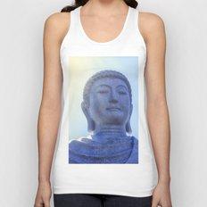 Meditating Buddha Unisex Tank Top