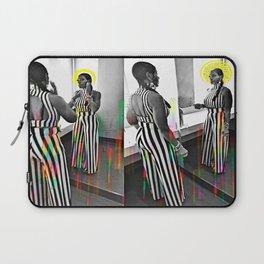 CareFreeBlackWoman Laptop Sleeve