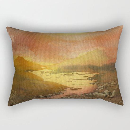 Calling The Sun XIX Rectangular Pillow