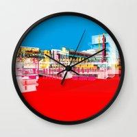 bauhaus Wall Clocks featuring Bauhaus · Das Bauhaus 1 by Marko Köppe