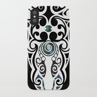 warrior iPhone & iPod Cases featuring Warrior by Boz Designs