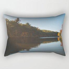 Sunrise On The Pond Rectangular Pillow
