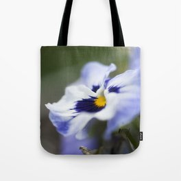 Blue Pansy II Tote Bag