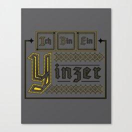 Ich Bin Ein Yinzer Canvas Print