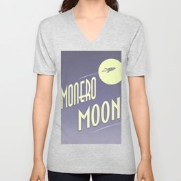 Monero Moon Unisex V-Neck