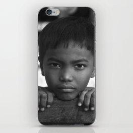 Children eyes of the Vietnamese innocence iPhone Skin
