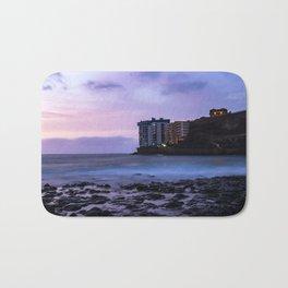 Long Exposure in a beach of Tenerife Bath Mat