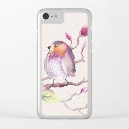 Magnolia #1 Clear iPhone Case