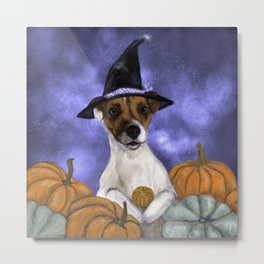Mabel, Queen of the Pumpkin Patch Metal Print