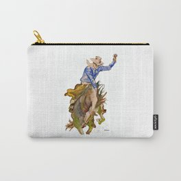 Ride em Cowboy by Peter Melonas Carry-All Pouch