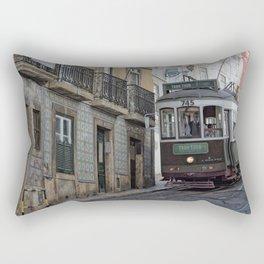 Tram tour  Lisboa 2 Rectangular Pillow