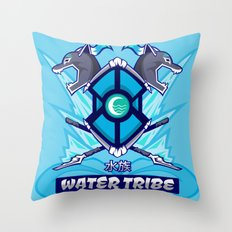 Avatar Nations Series - Water Tribe Throw Pillow