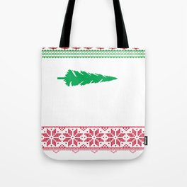 Funny Ugly Christmas Tote Bag