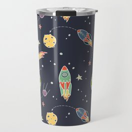 Space Flight Travel Mug