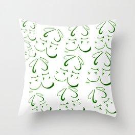 Beauty Love Throw Pillow