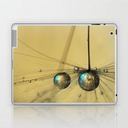 Molten Gold Drops Laptop & iPad Skin