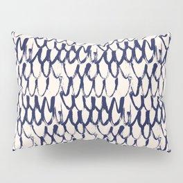 Net pattern. Dry brush. Pillow Sham