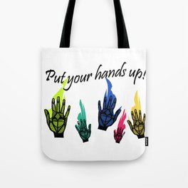 Hands Up! Tote Bag