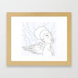 Wings Framed Art Print