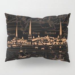 Riga 1544 (mahogany inverted) Pillow Sham