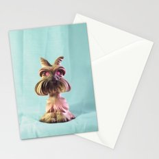 Demon Puppy With Plastic Gemstone Eyes Stationery Cards