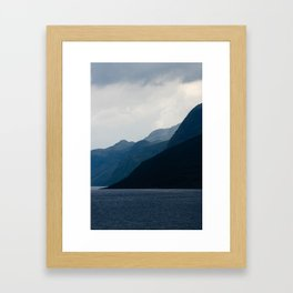 Gradients Framed Art Print