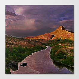 Up River Canvas Print