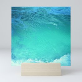 Blue Lagoon Spring Summer Mini Art Print