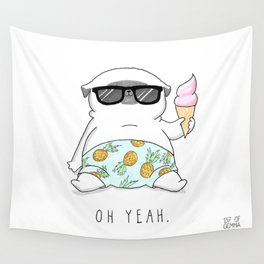 Oh Yeah Wall Tapestry