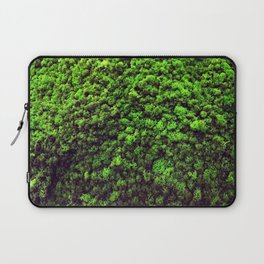Dark Green Moss Laptop Sleeve
