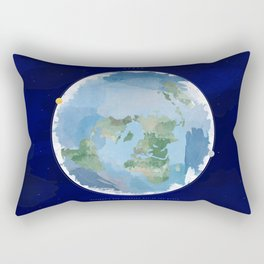Map of the World Rectangular Pillow