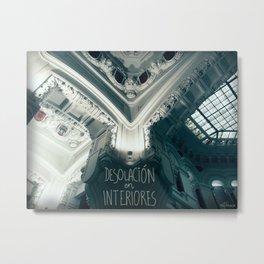 Desolación en interiores Metal Print