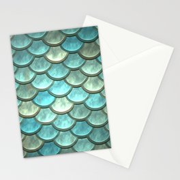 Mermaid Print Stationery Cards