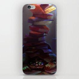 Book worm  iPhone Skin