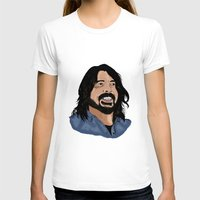 dave grohl T-shirts featuring Dave Grohl - Fan Art by Matty723