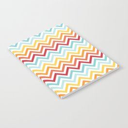 Rainbow Chevron #2 Notebook