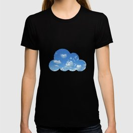 Blue sky and clouds T-shirt