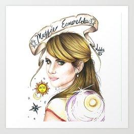 Maggie Esmerelda-AHS Art Print