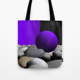 go violet -09- Tote Bag