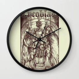 Mutilated by Mutated Corpses! Wall Clock