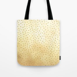 Gold Glitter Party Tote Bag
