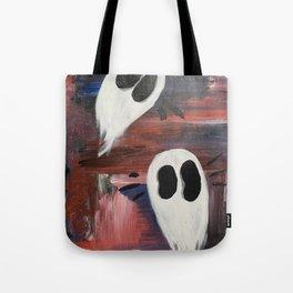 Anxious Ghosties Tote Bag