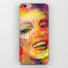 Meryli Monroe iPhone & iPod Skin