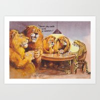 poker Art Prints featuring poker advice by Rose Rigden