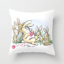 Knitter's Helpers Throw Pillow