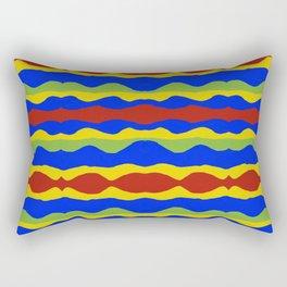 Haitian Ribbons  Rectangular Pillow