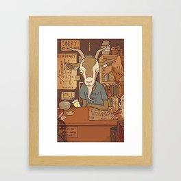 Phil's Curiosity Shop Framed Art Print