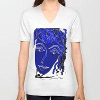 friendship V-neck T-shirts featuring friendship by sladja